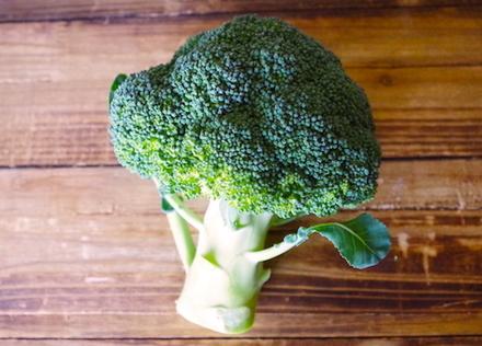 緑の彩り野菜「ブロッコリー」