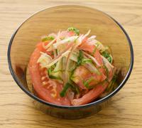 トマトの中華マリネ