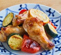 鶏手羽元のレモンしょうゆ焼き