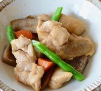 とろーりあんのささ身と根菜の煮物