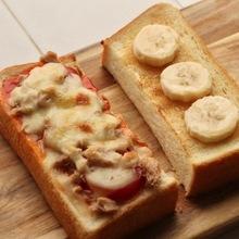 ピザトースト・はちみつバナナトースト