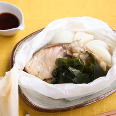 ぶりと野菜の包み焼き