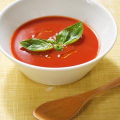 レンジでトマトスープ