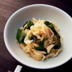 健康美人 切り干し大根とワカメの中華サラダ