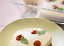 ゴールデンベリーのヘルシーヨーグルトケーキ