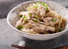 レンジで作る 豚肉とごぼうの生姜煮風