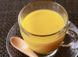 かぼちゃと豆腐の冷製スープ