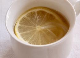 レモンコンソメスープ