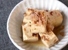 豆腐のおかか煮