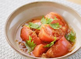 トマトの簡単だし浸し