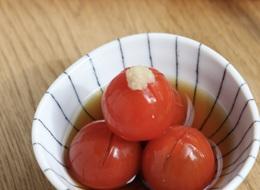 ミニトマトのおひたし