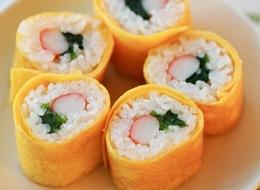 懐かしの卵巻き寿司