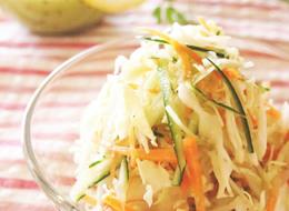 簡単さっぱりノンオイル キャベツ酢サラダ