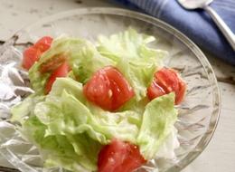 デリ風 レタスとトマトのサラダ