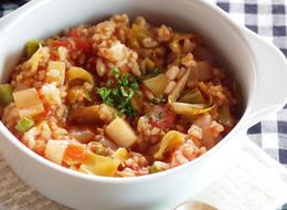 冷ご飯で 簡単トマトリゾット