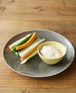 野菜のスティックサラダ