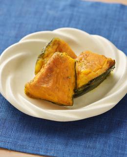 粉ふきかぼちゃのカレーバター風味