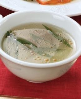 冬瓜とザーサイのスープ