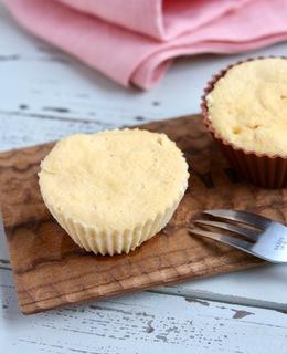 レンジでおからとヨーグルトのケーキ