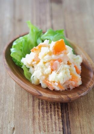 レンジで簡単 マヨなしポテトサラダ