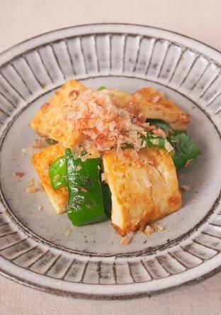 ピーマンとお豆腐のヘルシーチャンプルー
