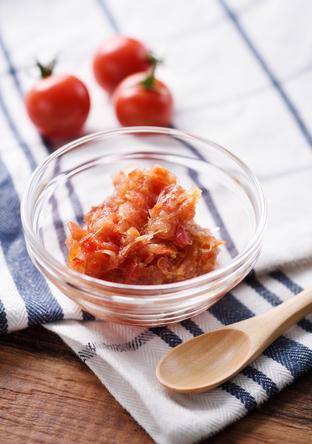 セロリとプチトマトの食べるジャム