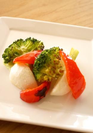 オーブントースターで焼き野菜