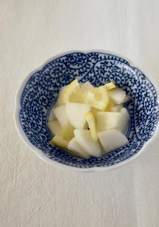 かぶのレモンサラダ