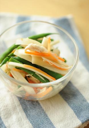 シャキシャキ根菜ごまサラダ