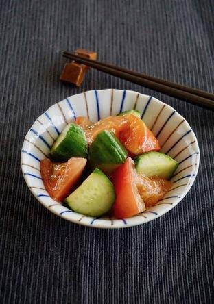 きゅうりとトマトの中華サラダ