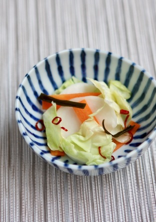 旬の野菜でササッと浅漬け