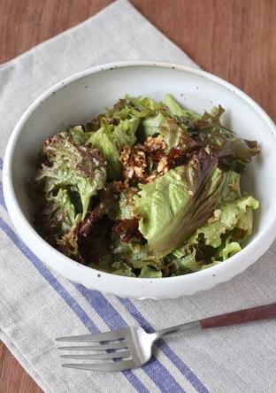 サニーレタスの韓国風もりもりサラダ