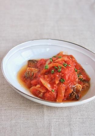 いわしのイタリアン風トマト煮