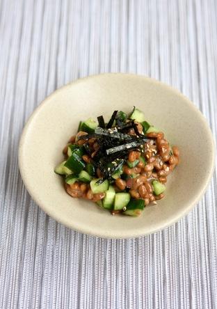 梅きゅうり納豆