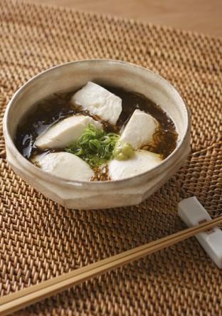 もずくとくずし豆腐のわさび風味