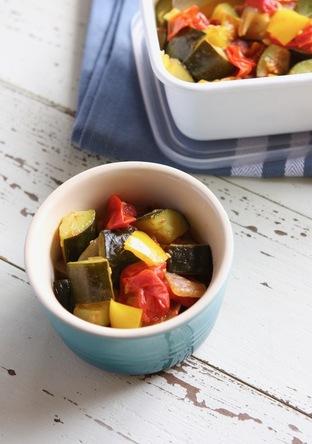 夏野菜たっぷりラタトゥイユ