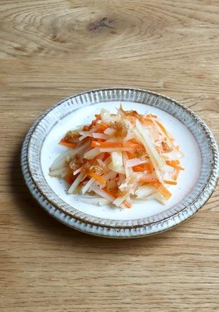 中国家庭料理 じゃがいもと人参のサラダ