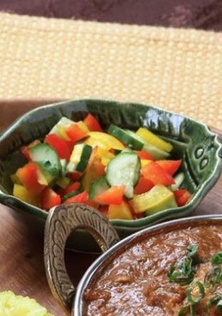 柚子胡椒の彩りピクルス