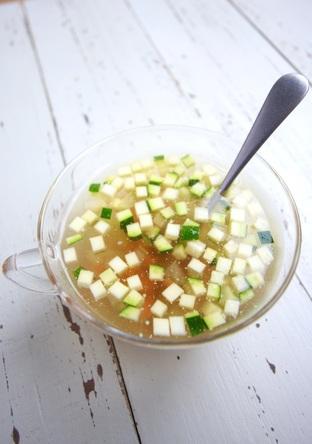 冷製コンソメスープ