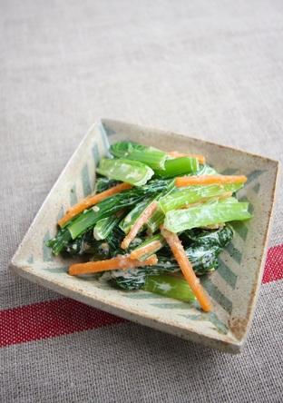 小松菜のごまマヨあえ