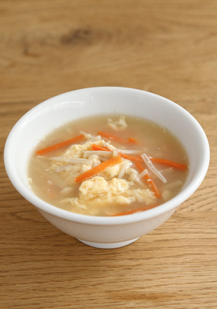 ふんわり卵の中華スープ