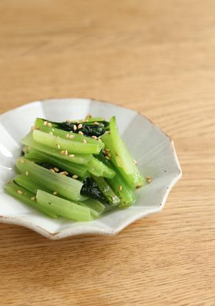小松菜の中華あえ