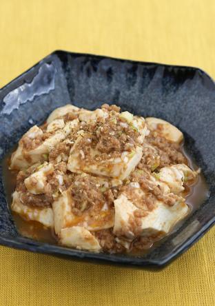 電子レンジで 麻婆豆腐