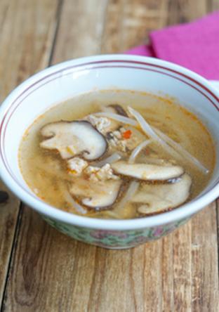 具沢山 ピリ辛中華スープ