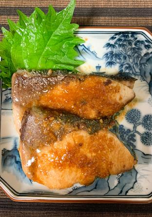 ぶりの味噌生姜焼き