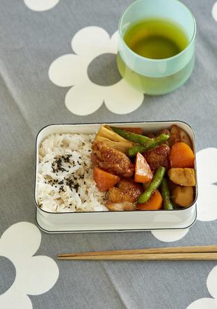 鶏甘辛煮弁当