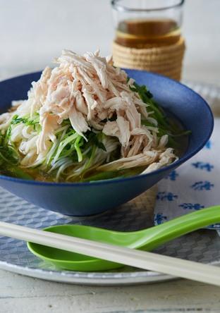 ゆで鶏スープ麺