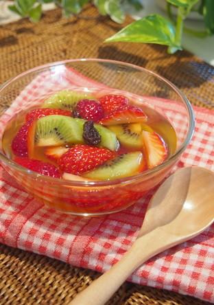 フルーツのデザートマリネ