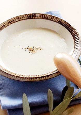 とろーり濃厚な長芋のスープ