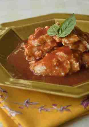 チキンのトマト煮(えんげ食・介護食)